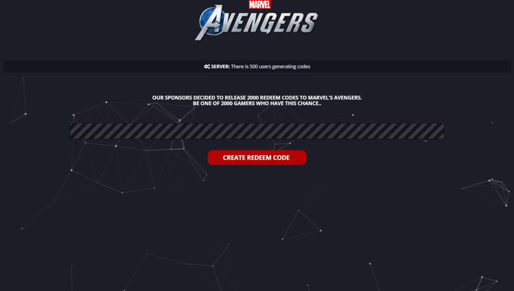 Marvel's Avengers Redeem Code