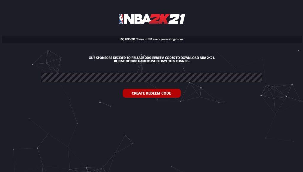 NBA 2K21 Activation Key